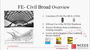 fe exam civil review 1 ch 1 8 lindeburg part 1 youtube
