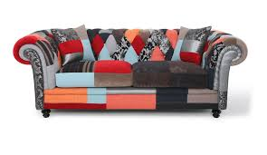 willobys patchwork 2 seater chesterfield sofa fora namjestaj