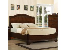 austin group big louis queen transitional headboard bed great