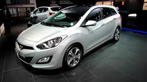 2013 hyundai i30 sport wagon diesel exterior and interior