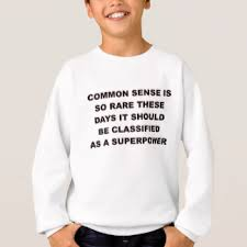 common sense is a superpower gifts on zazzle
