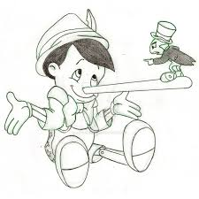 pinocchio and jiminy cricket sketch by rob lightning on deviantart