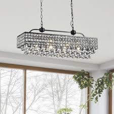 Rectangular Lantern Chandelier Ceiling Lights For Less Overstock Com
