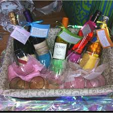Bridal Shower Wine Basket Cameron Chronicles Cute Bridal Ideas From Pinterest