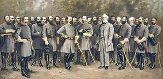lee and confederate generals