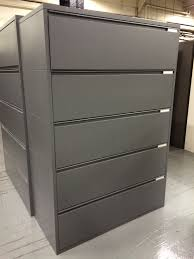 Meridian Lateral File Cabinet R5 5 Drawer Herman Miller Meridian Lateral File