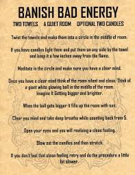 banish bad energy intuition pinterest witches magick and