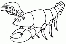 gentle lobster coloring pages kids coloring pages free printable
