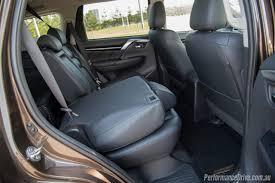 mitsubishi pajero interior 2016 2016 mitsubishi pajero sport seven seat review performancedrive