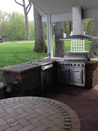 outdoor kitchens and fire pits landscaping company in ann arbor