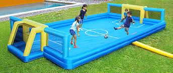amazon com sportspower inflatable soccer field toys u0026 games