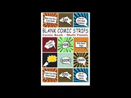 comic book blank comic strips make your own comics with this comic