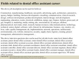 Dental Office Front Desk Duties Top 10 Dental Office Assistant Interview Questions And Answers