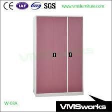 china swing door large clothes wardrobes cabinet with mirror