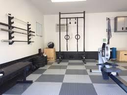 Garage Gym Design Crossfit Garage Gym Awesome Home Setups Ideas