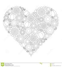 coloring book page vector black and white contour picture