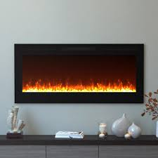 moda flame cynergy 50 in crystal electric recessed built in