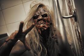 epic zombie halloween makeup tutorial latex free ellimacs sfx