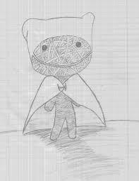 voodoo doll drawing by biohazardchao on deviantart