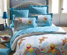 Winnie The Pooh Duvet Pooh And Piglet Skyblue Disney Bedding Sets Disney Bedding