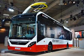 volvo electric car volvo 7900 electric hybrid der hochbahn im hamburg buses