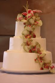 Tropical Themed Wedding Cakes - sweet pea cakes tropical flowers wedding cake