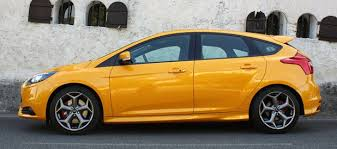 ford focus st yellow 2013 ford focus st s auto s