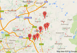 map of oldham which area in manchester to buy investment property how about oldham