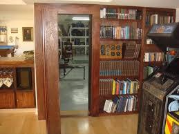Diy Bookcase Door Ana White Inset Bookshelf Doorway Diy Projects Regarding Hidden