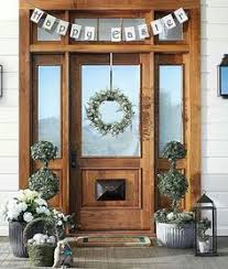 Outside Wooden Easter Decorations by Outdoor Easter Decoration Ideas House Entrance Spring Easter