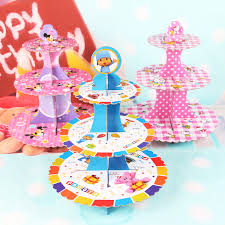 pocoyo party supplies new 15 styles wedding cupcake stand girl kids birthday party