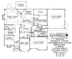 luxury estate floor plans cobblestone cottage house plan house plans by garrell associates