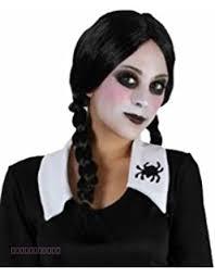 Addams Family Costumes Fancydress Like Wednesday Addams Family Costume Amazon Co