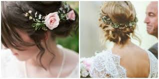 flower hair wedding hair inspiration flowers in hair la wedding