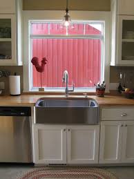 decor 30 inch optimum stainless apron sink with cool front for