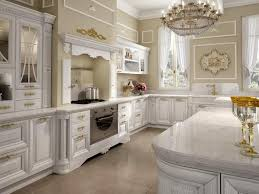Classic White Kitchen Cabinets Majestic Victorian Kitchen Ideas With Elegant Medieval Chandelier