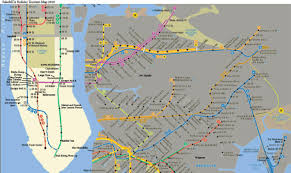 Mta Map Subway Holiday Mta Map Marks Tourists Tourist Traps Nbc New York