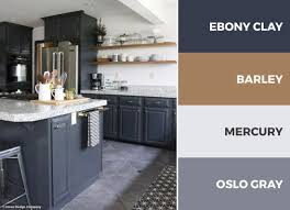 color schemes for kitchen cabinets a gray and white kitchen color scheme adds openness and
