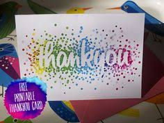 rainbow thank you cards download a free printable gifts and