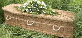 wicker casket willow coffins