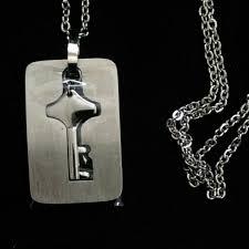 key necklace set images Heart bracelet with key necklace couple 39 s bracelet necklace jpeg