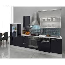 Kueche Kaufen Mit Elektrogeraeten Respekta Premium Küchenzeile Rp310wsc 310 Cm Schwarz Weiß Kaufen