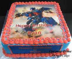 optimus prime cakes d angel cakes optimus prime cake for