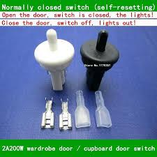 automatic closet door light switch door light switches luxury magnetic closet door light switch or