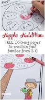 free apple addition coloring pages these are such a clever twist