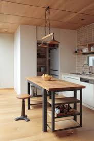 kitchen island metal photo gallery kitchen makeovers industrial kitchen island