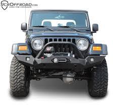 jeep wrangler front bumper jcr vanguard full width front winch bumper tj u0026 lj u2013 alpha dirt