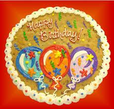 birthday cookie cake sc 01 happy birthday balloons cookie cake buy now birthday