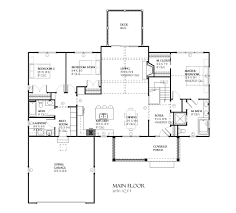 Single Story Ranch Style House Plans Ranch Style House Plan 5 Beds 3 00 Baths 2658 Sq Ft Plan 901 64