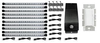 Hardwired Cabinet Lighting Hardwire Led Kitchen Kit Pro Series